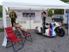 Die 'Box' des Classic Sidecar Racing Teams