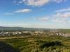 Blick über Ingelheim Richtung Taunus